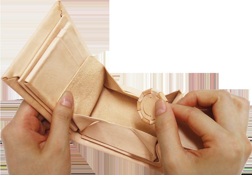 Kit 小銭入れパーツ 共通 縦ボックス型