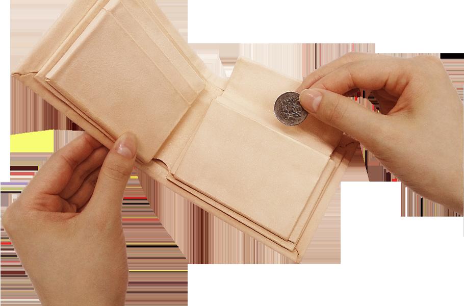 Kit 小銭入れパーツ 共通 フラップ型