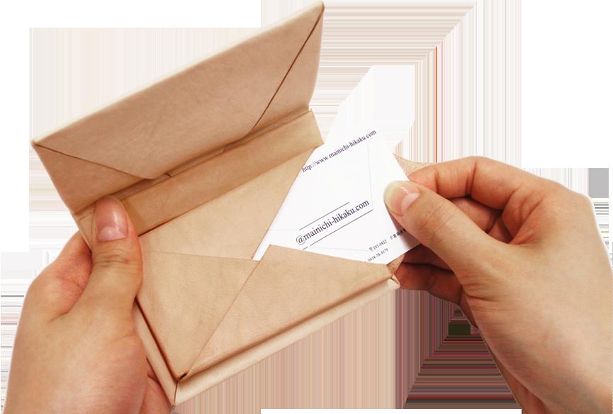 Kit カード入れ ラッピング型
