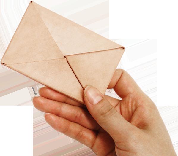 Kit カードケース ラッピング型