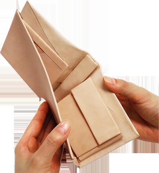 Kit オールインワンパーツ 折り財布用 ワンパターン型